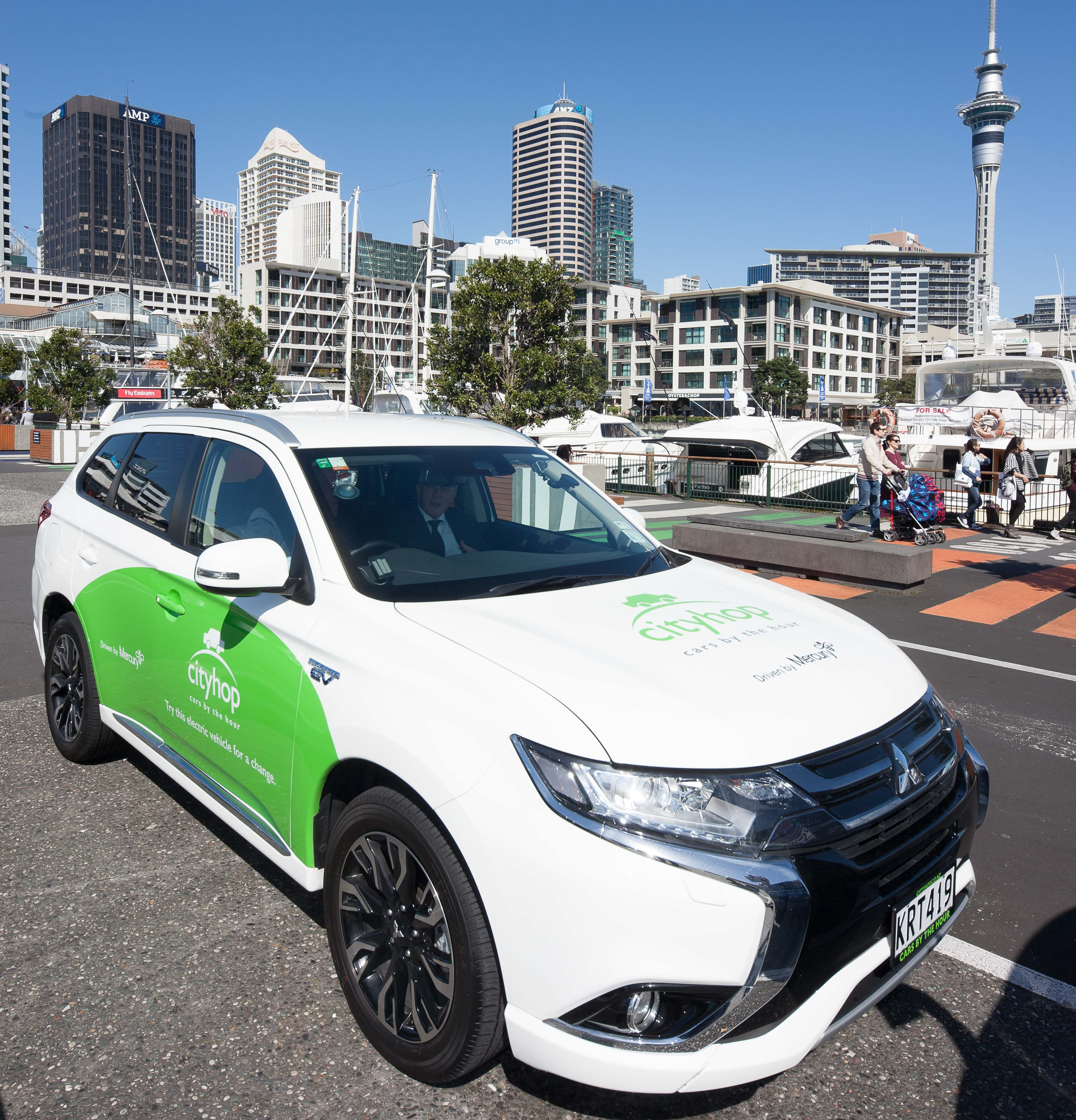 Car Share Heart Of The City Auckland S City Centre Business