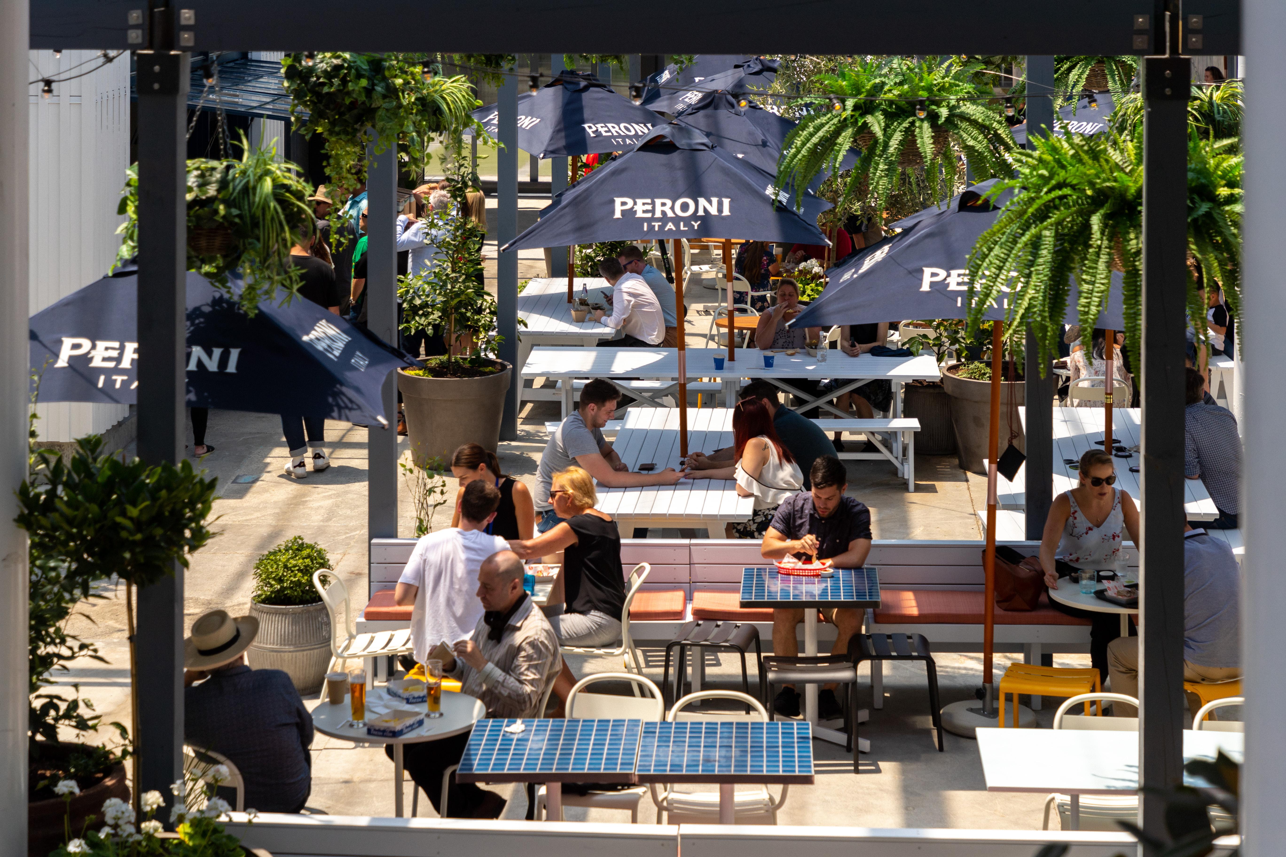 Auckland Fish Market Courtyard