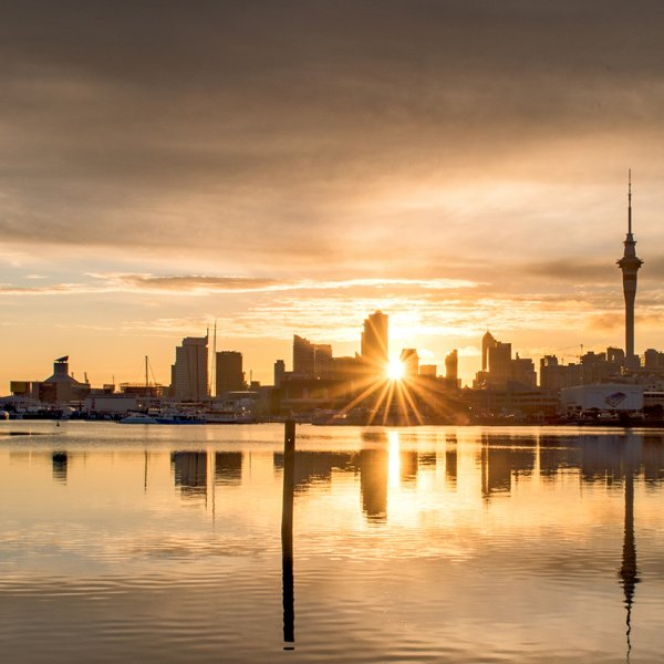 Auckland skyline viewed from St Mary's Bay. Image: Wayne BoardmanAuckland's city centre skyline viewed from St Mary's Bay. Image: Wayne Boardman