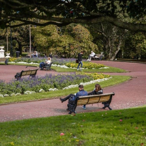 Albert Park in Auckland's city centre. Image: Sacha Stejko