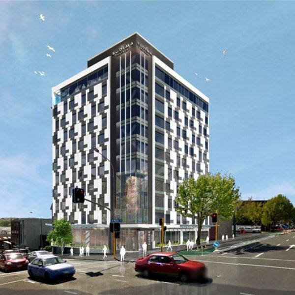 Artist's impression of Sudima Hotel Auckland CBD. Image: Sudima Hotels