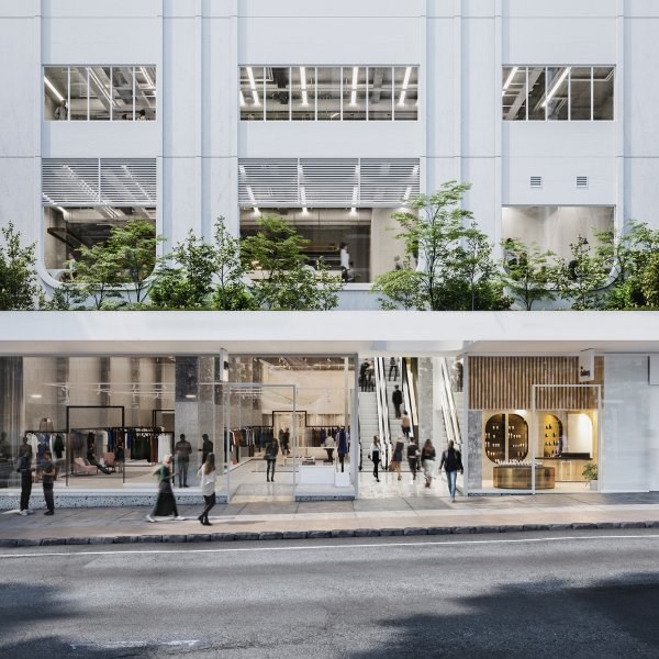 246 Queen Street in Auckland's city centre - artist's impression from Queen Street. Image: Wilshire Group