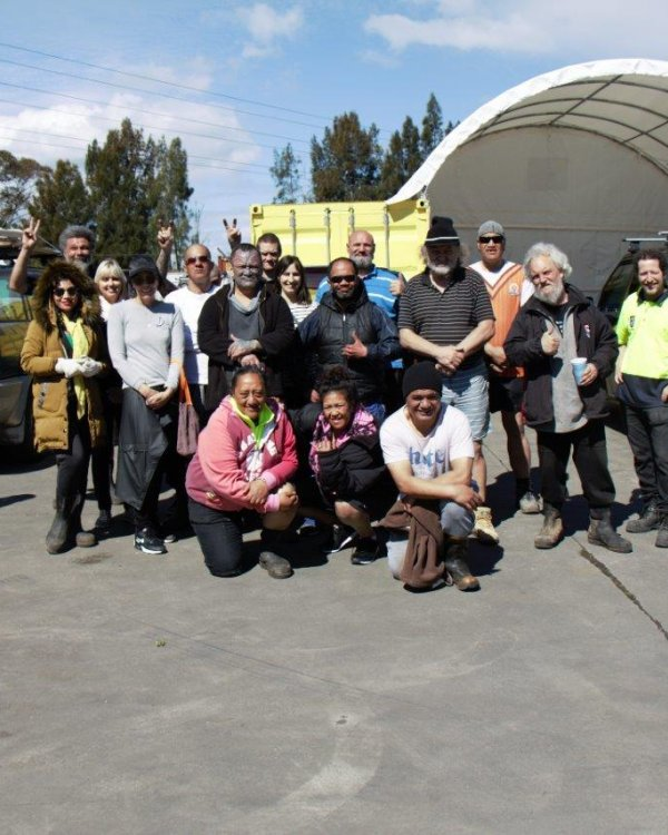 Street Guardians group photo, pilot day one, Tipping Point. Image: Shadow