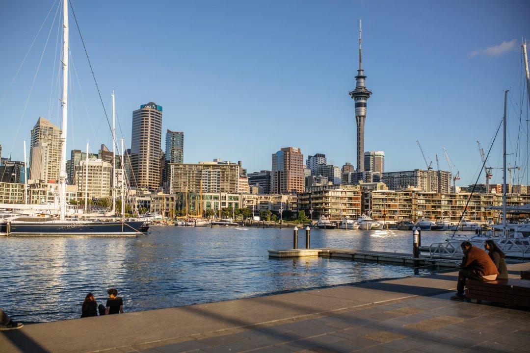 Auckland skyline viewed from St Mary's Bay. Image: Wayne BoardmanAuckland's city centre skyline viewed from St Mary's Bay. Image: Wayne Boardman